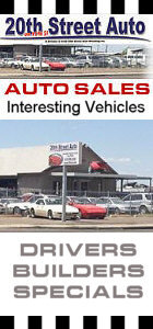 Looking for a Driver or Project Car? Check out our Sales Division
