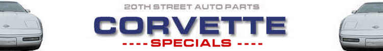 Select Specials for Corvette